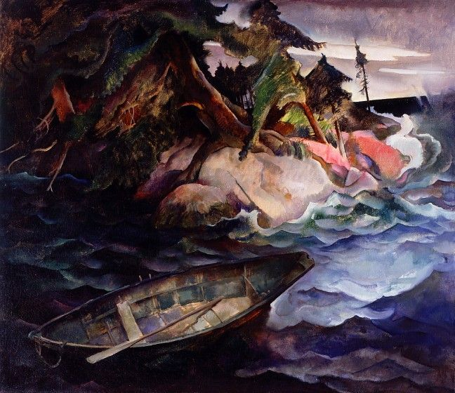 N.C. Wyeth (1882-1945) The Drowning, 1936, oil on canvas.
