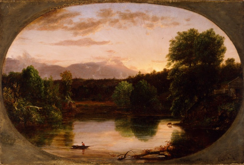 Thomas Cole painting