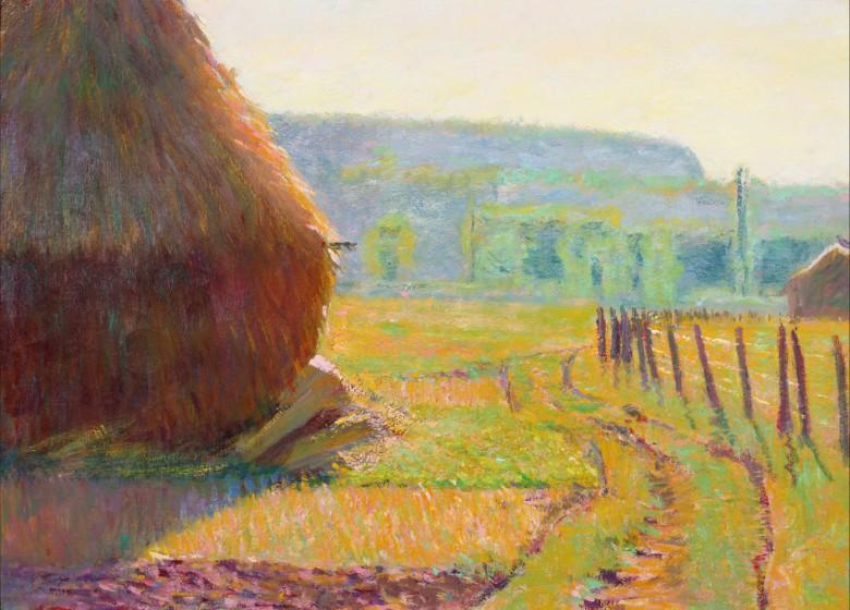 Theodore Earl Butler, Grainstacks, ca. 1897
