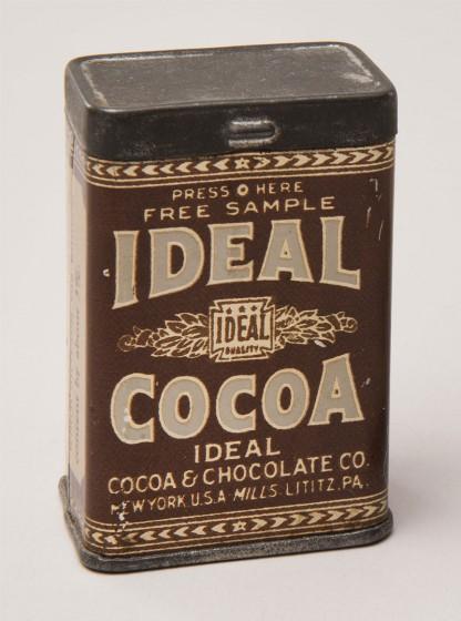 Ideal Cocoa Free Sample Tin