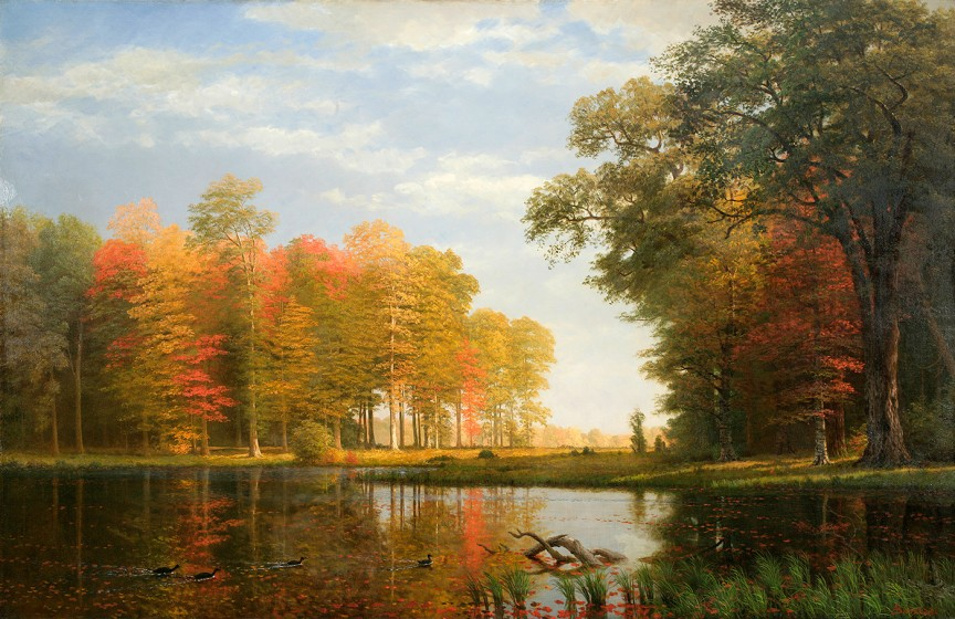 Famous Park Painting