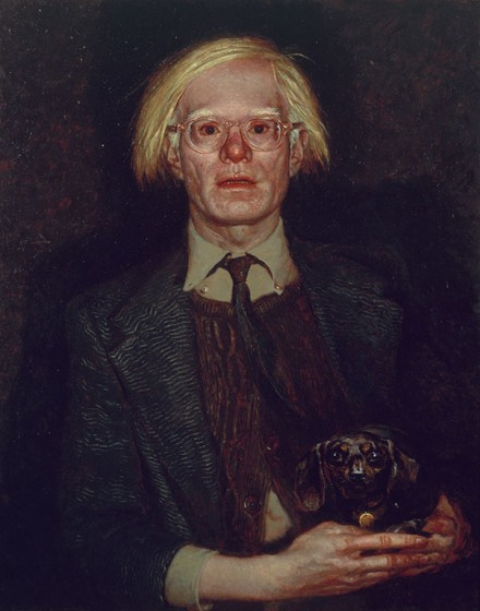 Jamie Wyeth, Andy Warhol, 1976