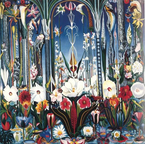 Joseph Stella, Flowers, Italy, ca. 1930